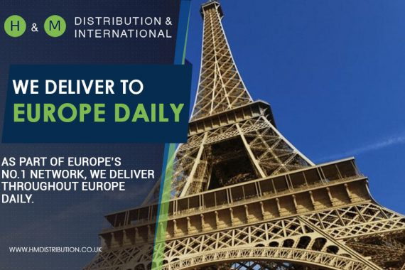 We deliver pallets to Europe daily!