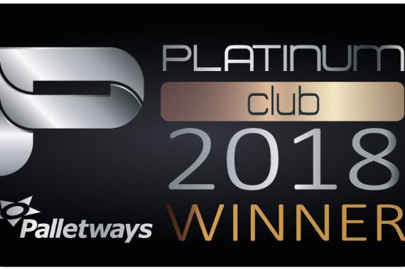 Palletways platinum 2018 Winner!