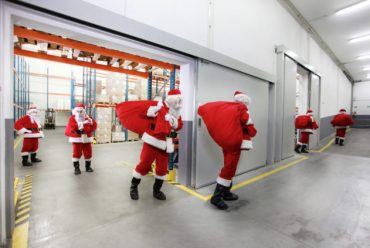 Warrington based logistics firm in 850,000 pallet record breaking Christmas season