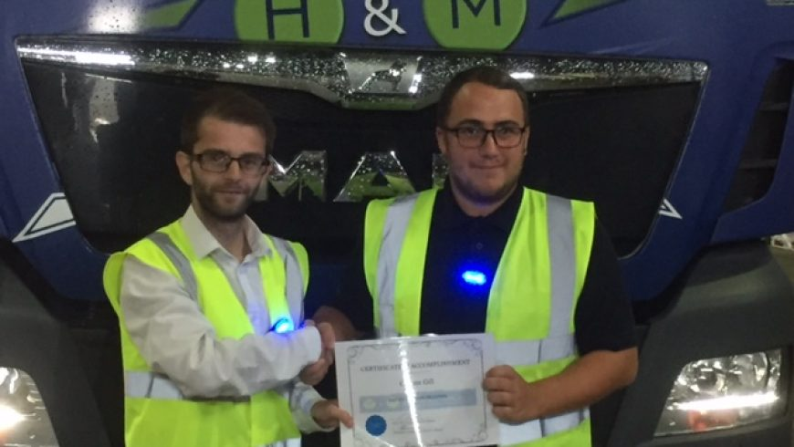 Our new apprentice's blog