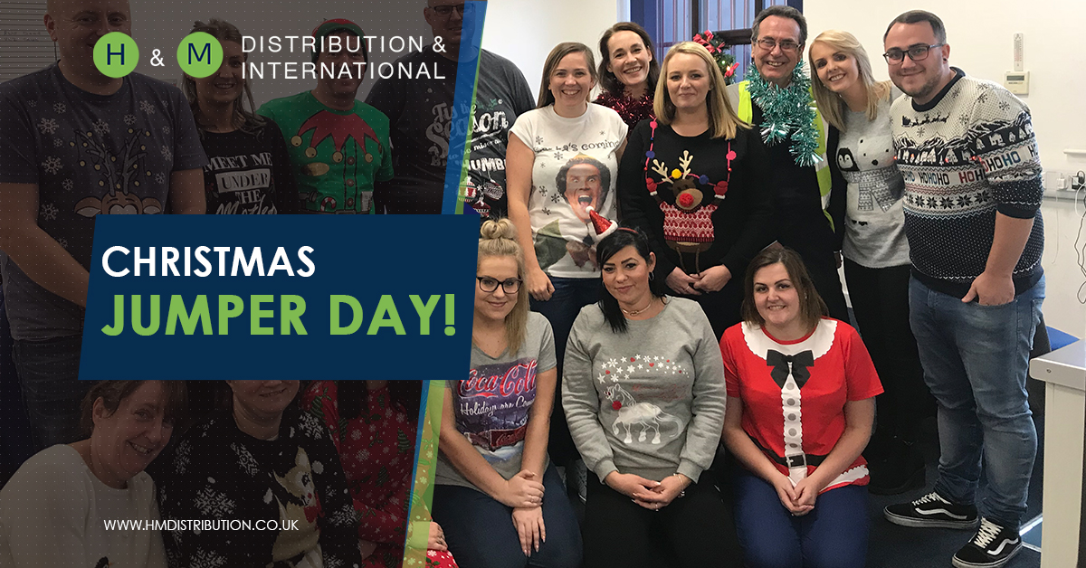 Christmas Party & Christmas Jumper Day –  £1295 Raised for St Rocco's Hospice