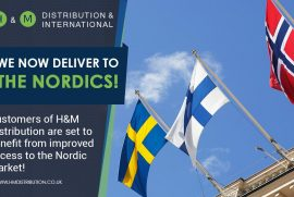We now deliver to the nordics!
