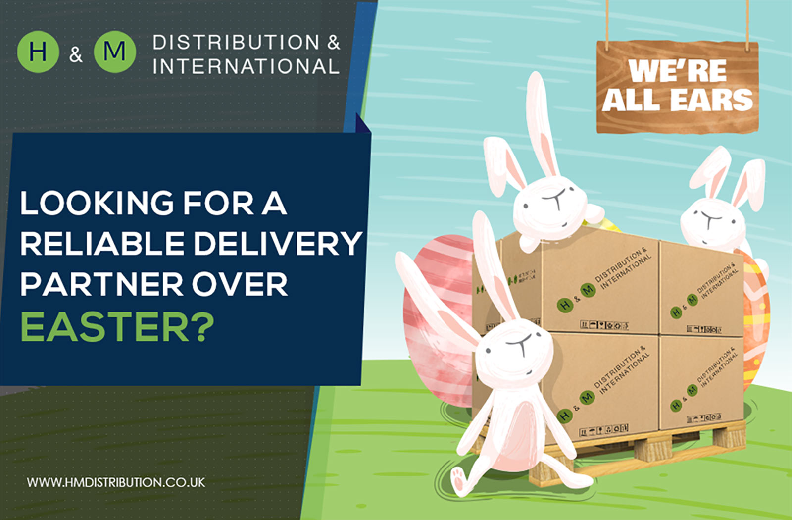 H&M Distribution- pallet delivery service based in the UK